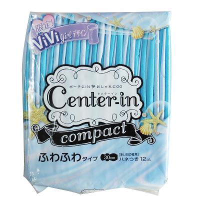 【Center-in】日本棉柔蝶翼衛生棉-夜用量多型30cm