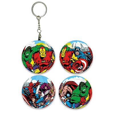 【Marvel】經典漫畫球形拼圖鑰匙圈24片