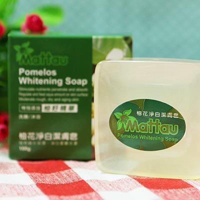 【麻豆區農會】 柚花淨白潔膚皂