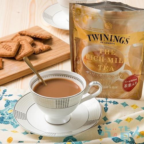 【吃貨人】片岡TWINING奶茶袋