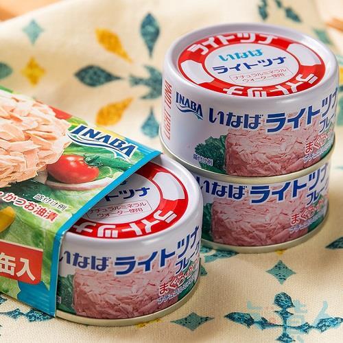 【吃貨人】(最強の鮪魚罐頭)稻葉3入加鰹鮪魚罐