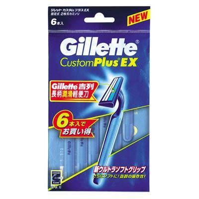 【吉列】長柄潤滑輕便刀日本包裝6支裝