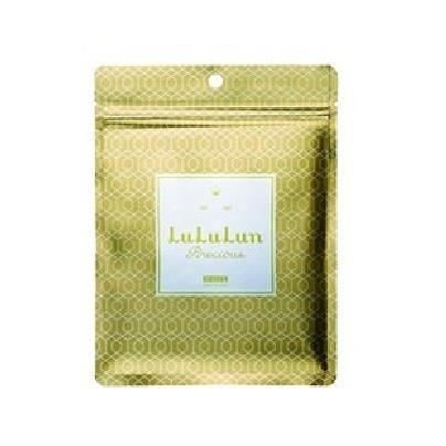 日本代購【LuLuLun】新款金色面膜(7枚入)