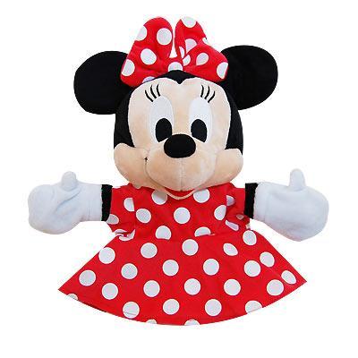 【迪士尼】手偶娃娃-米妮