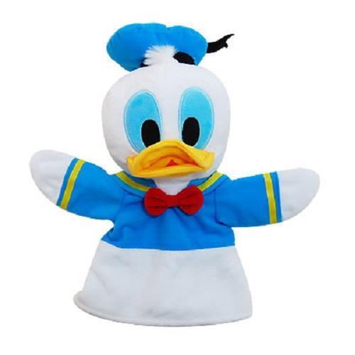 【迪士尼】手偶娃娃-唐老鴨