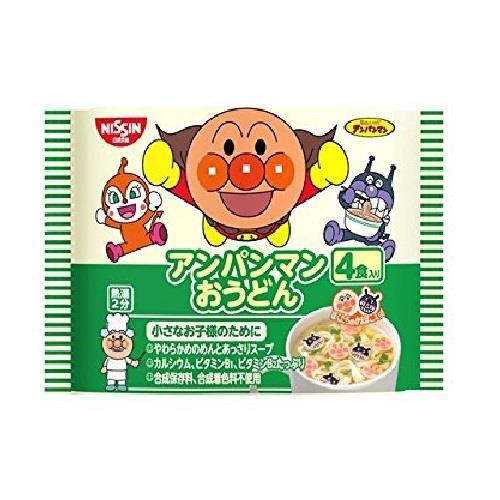 日本代購【日清】麵包超人烏龍麵12包入