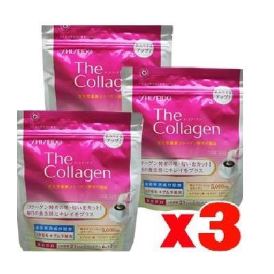 日本代購【The Collagen】資生堂膠原蛋白粉(21日份)X3袋