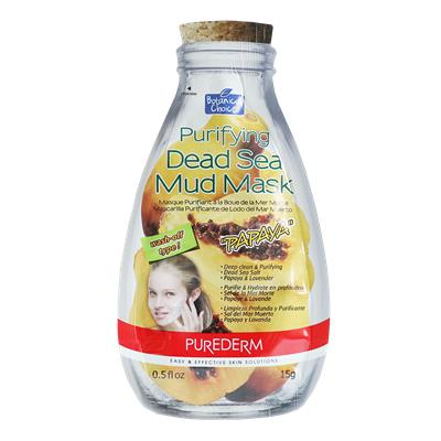 PD淨化死海泥面膜-木瓜,15g