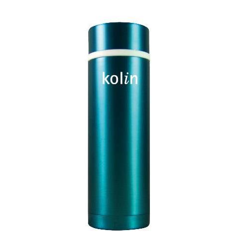 東森嚴選【歌林】350ml真空保溫杯(KPJ-JB351)藍綠色