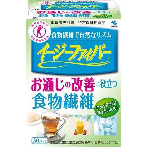日本代購【小林製藥】輕鬆順暢膳食纖維(30日份)