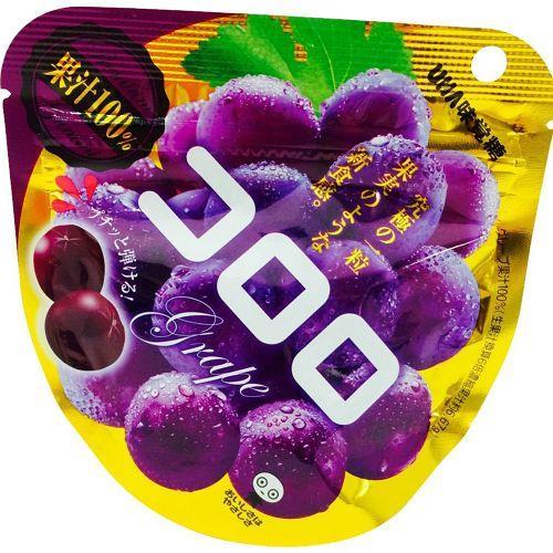 日本代購【UHA】味覺糖系列 葡萄口味軟糖