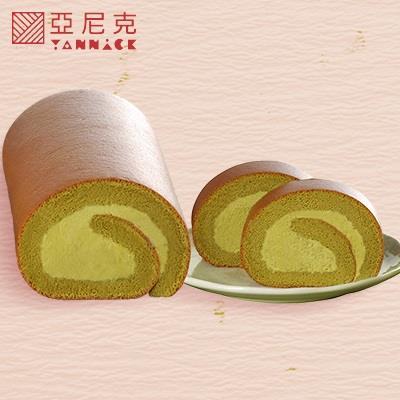 【亞尼克】抹茶生乳捲(320g/條*4條)
