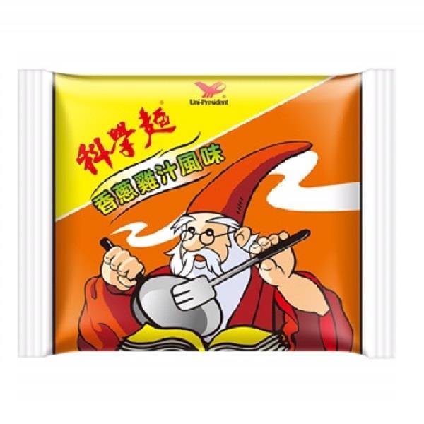【統一】科學麵-香蔥雞汁(40g-40包入/箱)