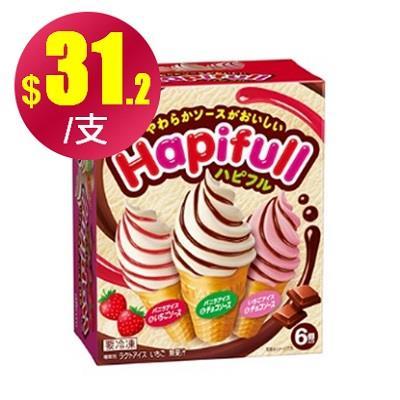 【冷凍店取】【明治】Hapifull快樂頌(6入)*4盒