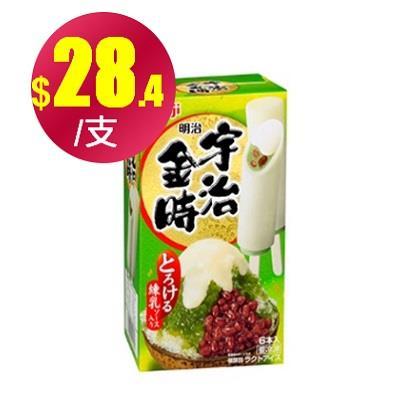 【冷凍店取】【明治】宇治金時(6入)*4盒