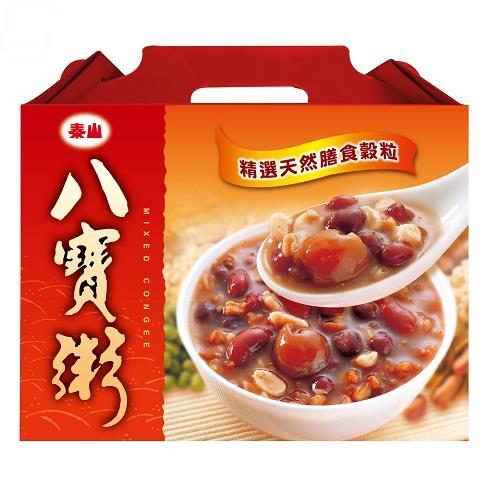 【泰山】八寶粥禮盒(375gX12入)