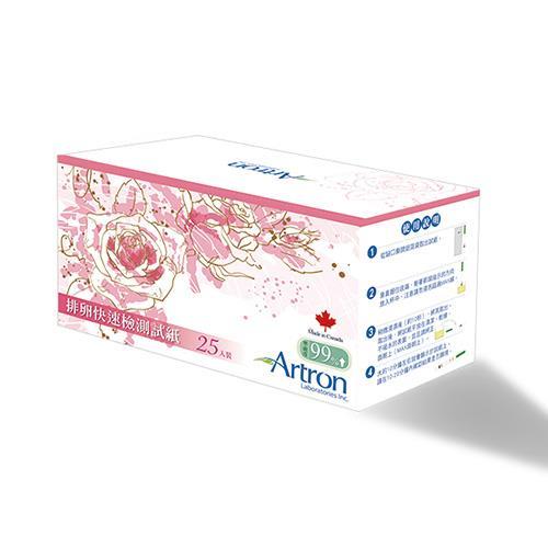 【Artron雅創】排卵快速檢測試紙(25入/盒)