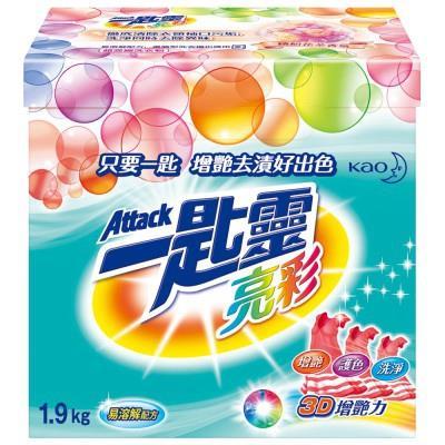 【一匙靈】一匙靈 亮彩超濃縮洗衣粉 1.9Kg