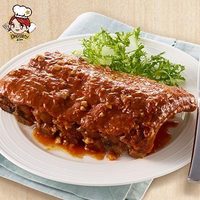 【冷凍店取-黛絲蒂】碳烤豬肋排(450g)