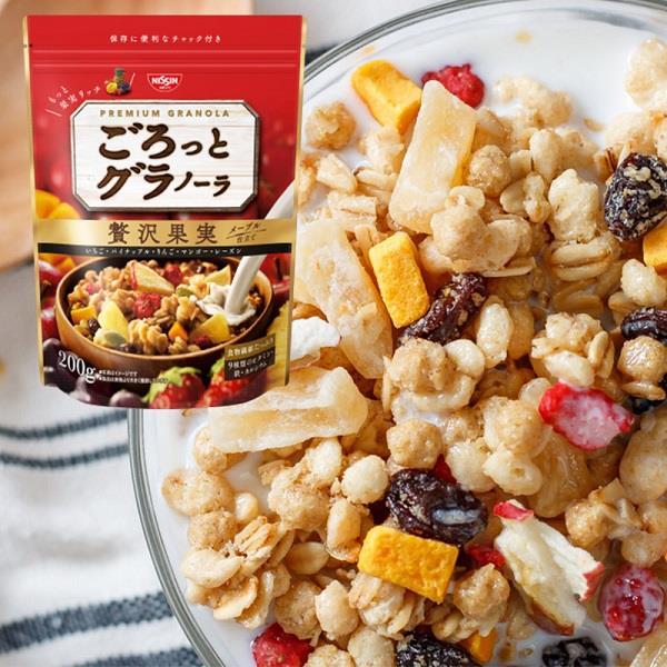 【吃貨人】日清 水果早餐餅 200g