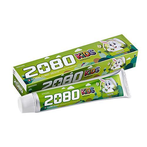 【韓國2080】強齒健齦兒童牙膏-蘋果80g(2入)
