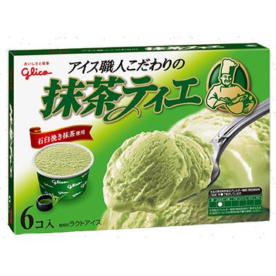 【冷凍店取】【格力高】格力高Tie職人抹茶風味冰淇淋家庭號(12杯)