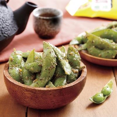 【冷凍店取-禎祥】蒜味毛豆(200g*4入)