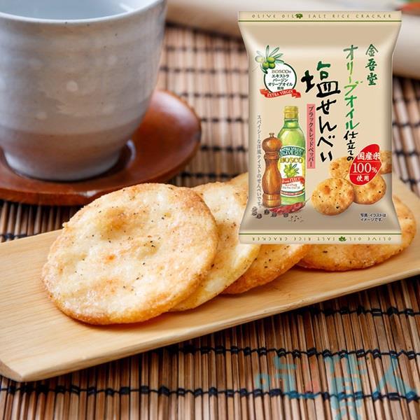 【吃貨人】金吾堂香蒜辣味鹽仙貝15枚