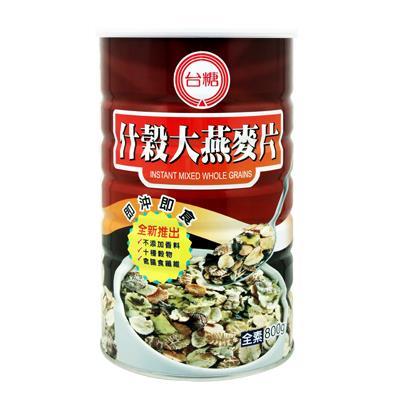 【台糖】什穀大燕麥片 (800g/罐)