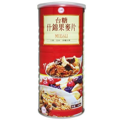 【台糖】什錦果麥片 (400g/罐)