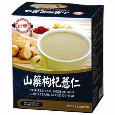 【台糖】山藥枸杞薏仁 (27g*6包/盒)