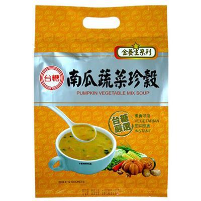 【台糖】南瓜蔬菜珍穀 (22g*12包/袋)