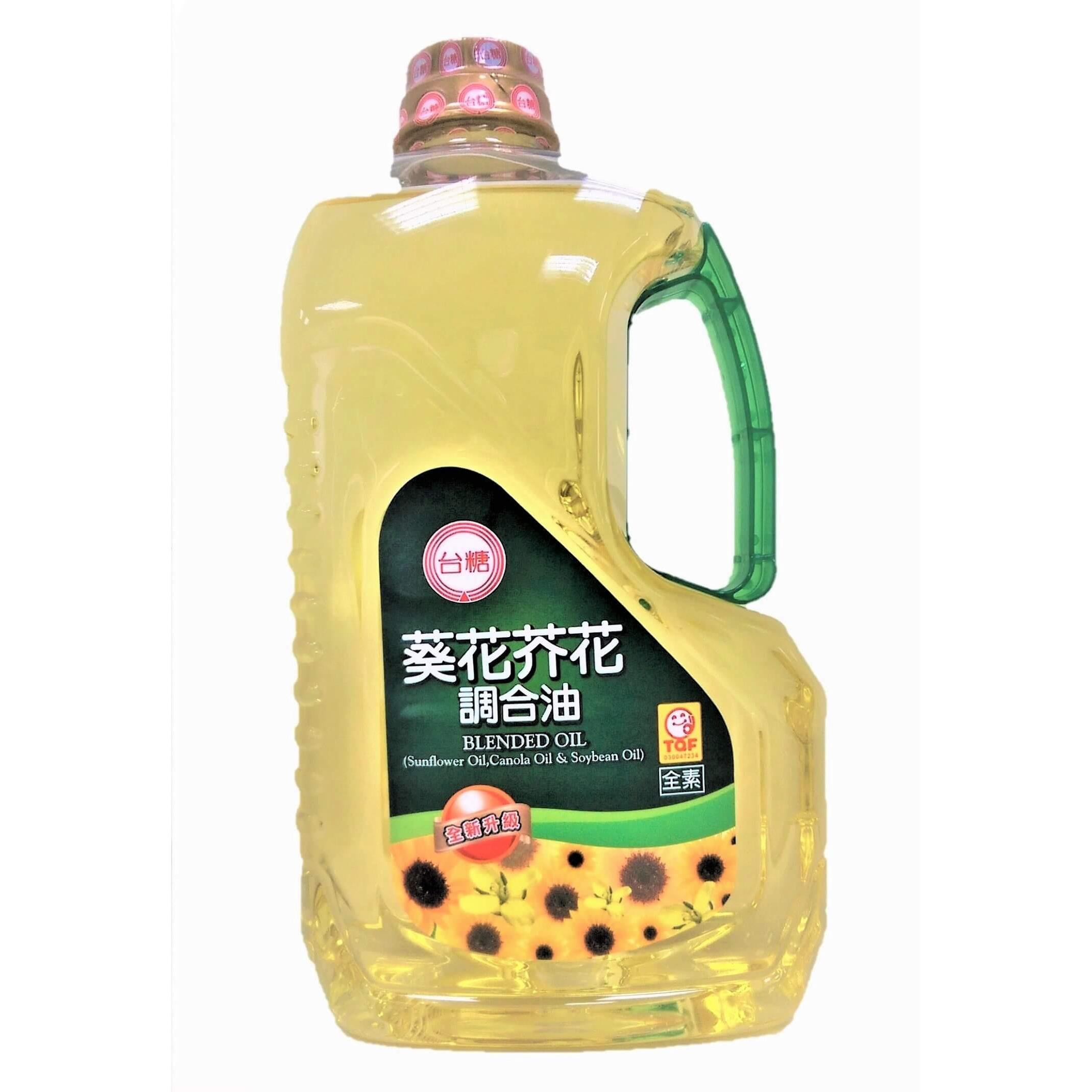 【台糖】Omega3+6葵花芥花調合油 (2公升裝)