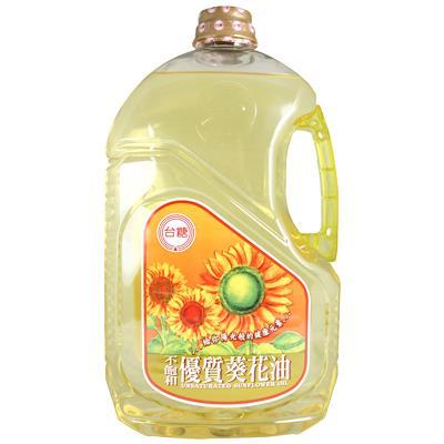 【台糖】不飽和優質葵花油 (2.6公升裝)