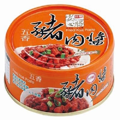 【台糖】安心豚豬肉醬 五香 (160克/罐x3罐)
