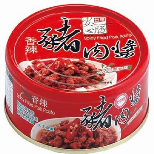 【台糖】安心豚豬肉醬 香辣 (160克/罐x3罐)