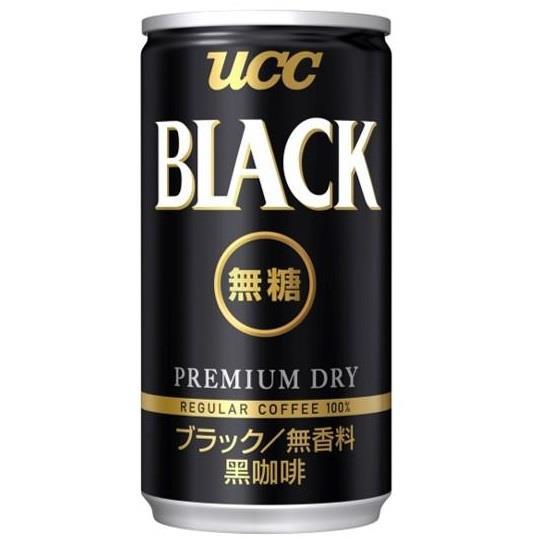 【UCC】BLACK無糖咖啡(185ml-30入/箱)