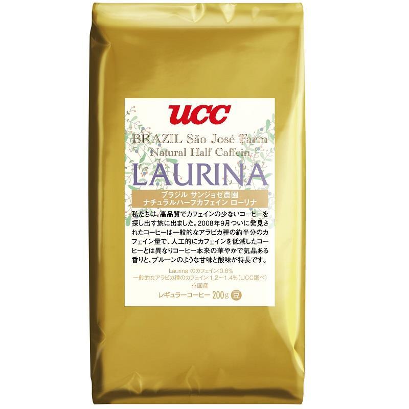【UCC】天然半咖啡因咖啡豆 (200g/包)