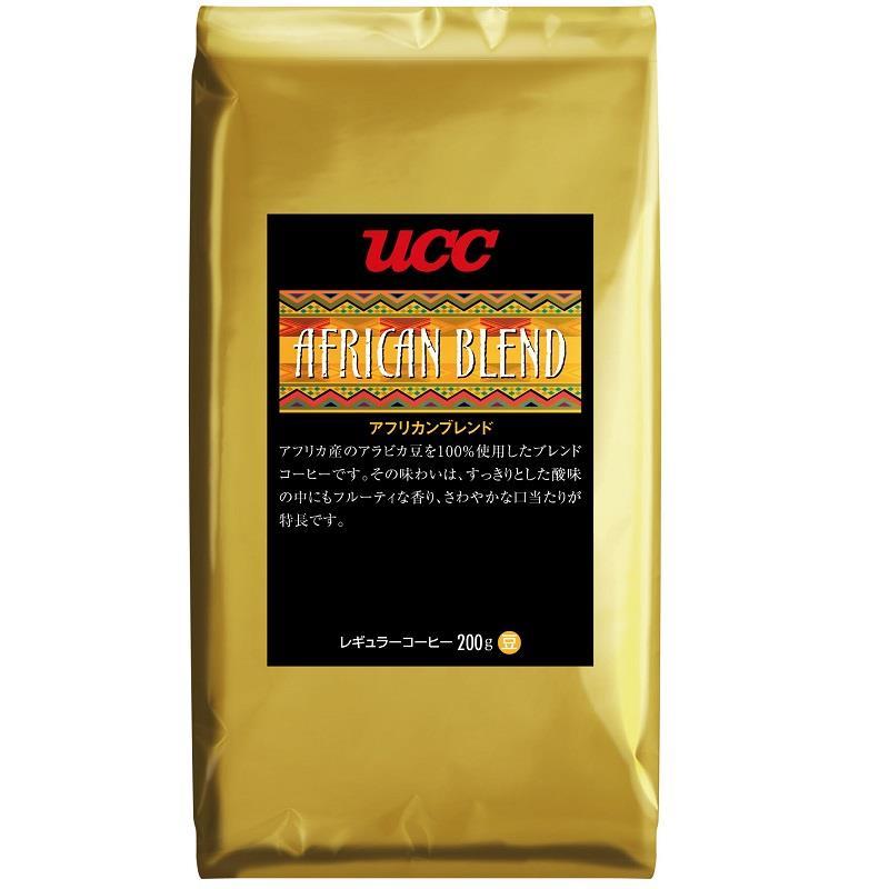 【UCC】非洲綜合咖啡豆 (200g/包)