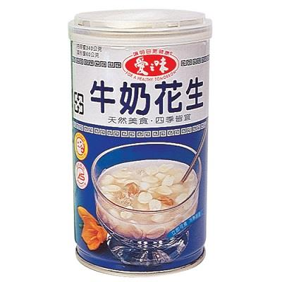 【愛之味】牛奶花生湯(340gX12入)