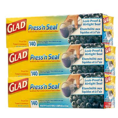 【GLAD】 強力保鮮膜 (3入)
