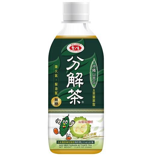 【愛之味】山苦瓜油切分解茶350ml-24入/箱