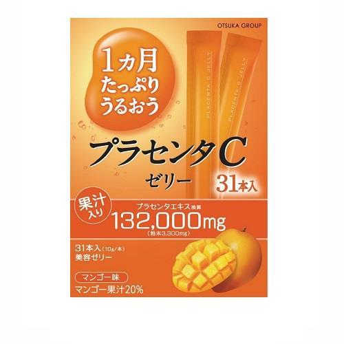 日本代購【大塚】膠原蛋白凍條(31入)-芒果口味
