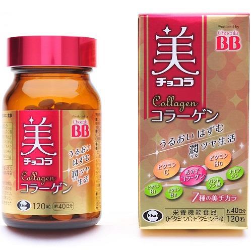 日本代購【Chocola】美顏BB 膠原蛋白錠(120錠)