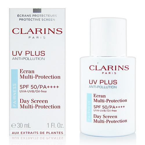 CLARINS 克蘭詩 輕呼吸全效UV隔離露SPF50/PA++++ 50ml Baby藍[QEM-girl]