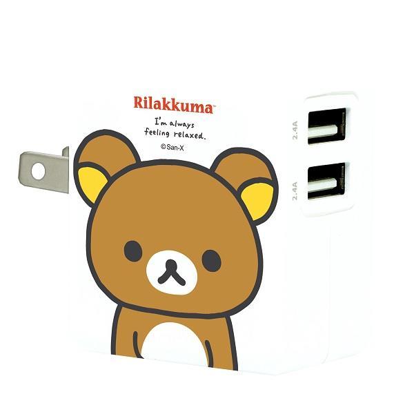 【拉拉熊】3.4A智慧型快速充電器