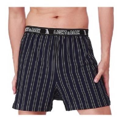 【LIGHT&DARK】白竹炭零觸感型男舒適平口褲(深藍)