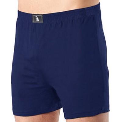 【LIGHT&DARK】新健康複合纖維素色平口褲(藍)