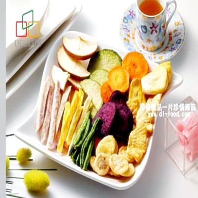 【得倫食品】綜合蔬果脆片 (180公克)-嘴饞必備團購美食