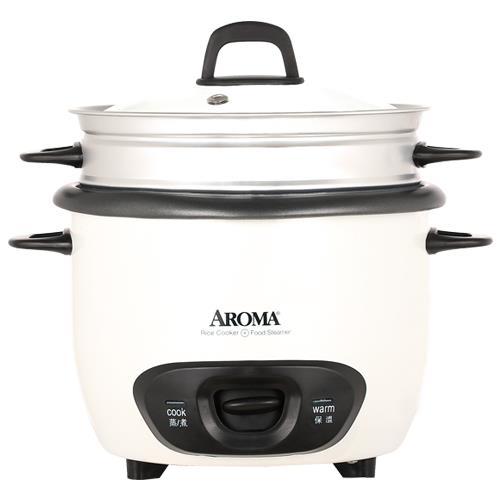 【威寶家電KAISER 】美國AROMA炫白蒸/煮美食料理鍋-ARC-747-1NG
